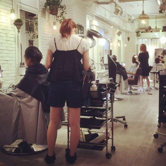 本日も大繁盛。ありがとうございますm(__)m#ルピアス #エクラスタトリートメント #トリートメント #佐藤公徳 #LUPIAS #表参道美容院 #美容師アシスタント募集 #lupias