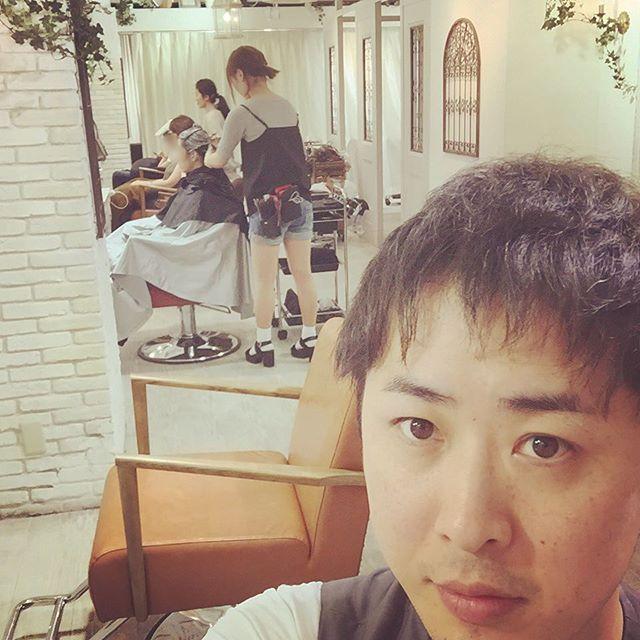 #表参道美容院